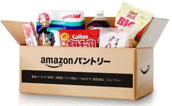 Amazonパントリーは、食品や日用品を中心とした低価格帯の商品を1点から購入できるサービス