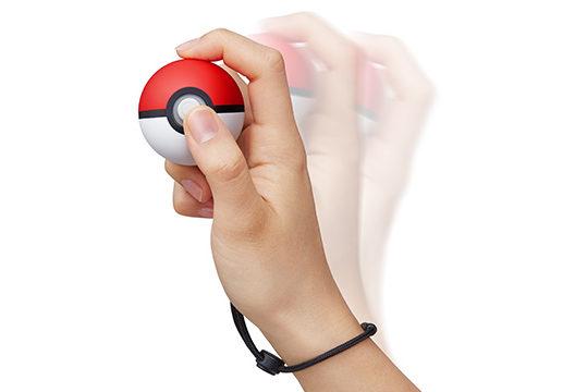 モンスターボールPlusでポケモンを捕獲する時はボタンを押す必要がある