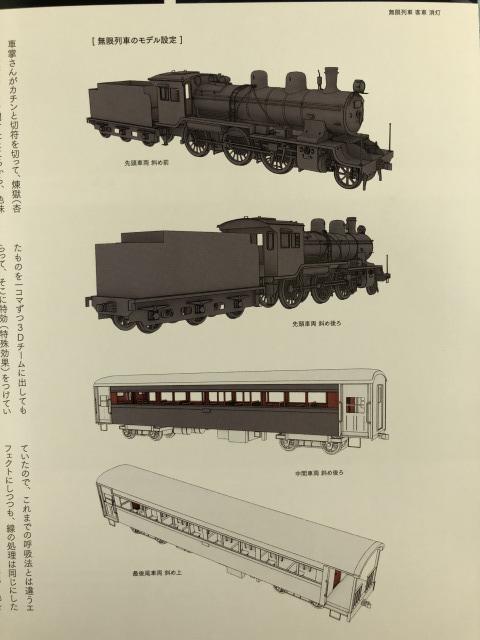 列車の原画